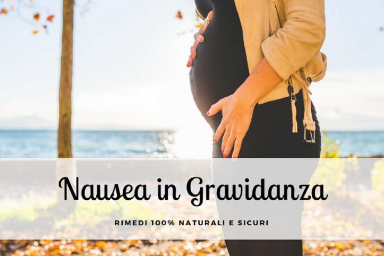 Rimedi naturali contro la nausea in gravidanza