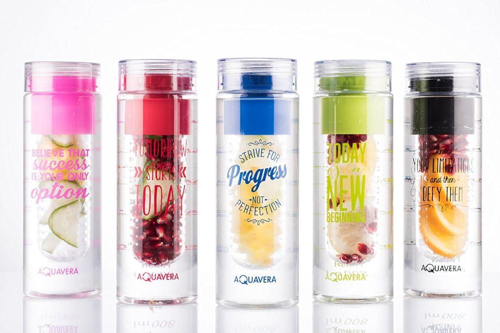 Delle bottiglie ecologiche ideali per non dimenticarsi di bere, anche se si hanno mille attività da fare!