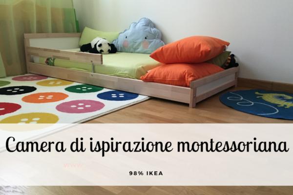 La nostra cameretta di ispirazione montessoriana 98% IKEA