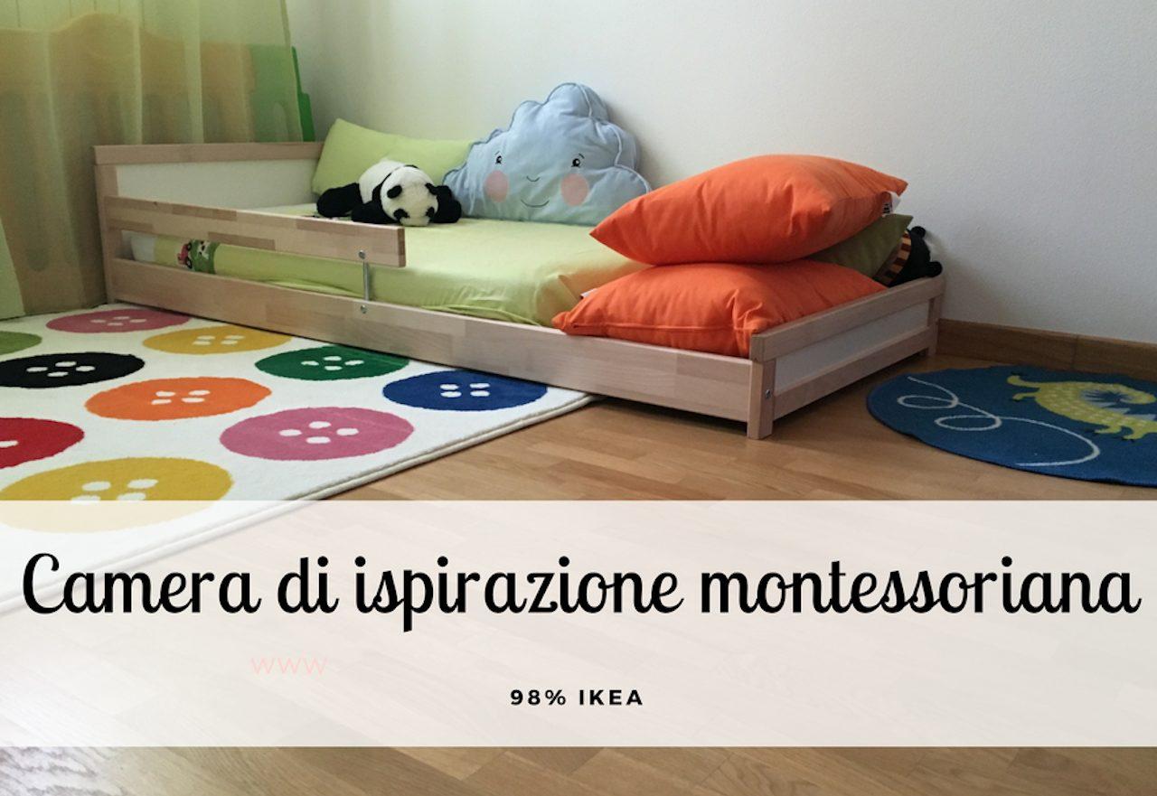 Cameretta Montessori Ikea : Camerette per bambini e arredamento montessori non solo ikea