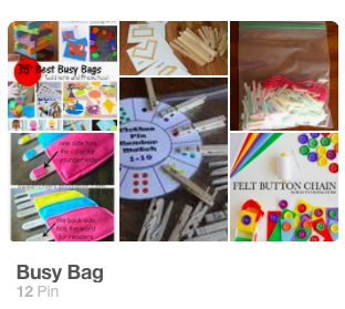 busy bag pinterest