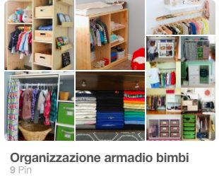 Organizzazione Armadi bambini