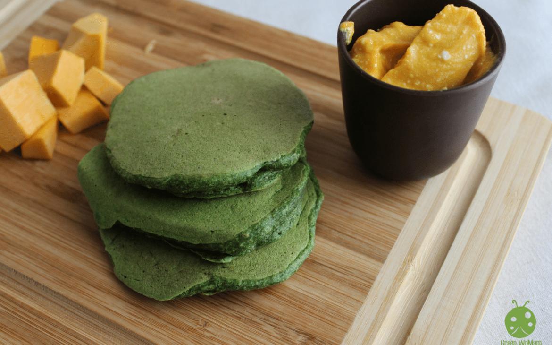 pancakes spinaci