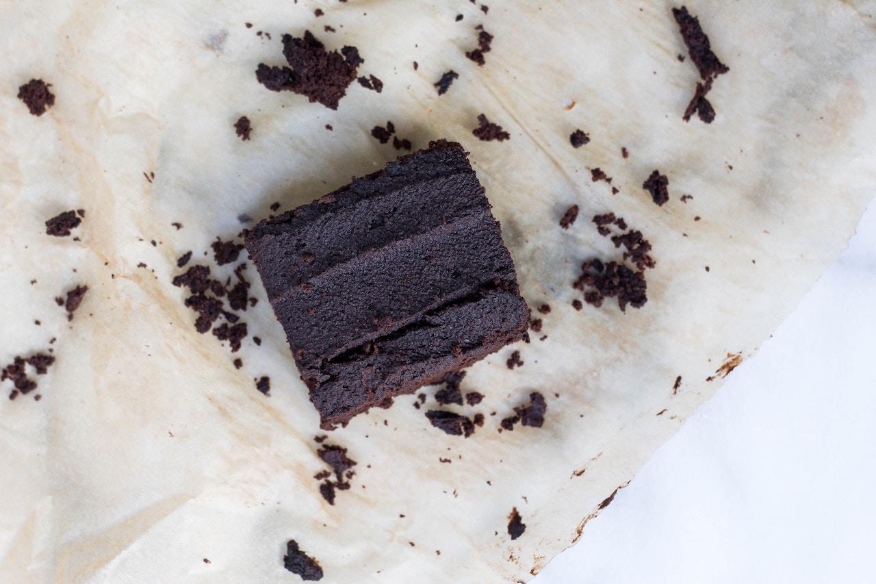 Brownies avocado e cioccolato
