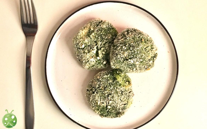 crocchette di purè e spinaci
