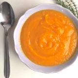 vellutata di topinambur e carote