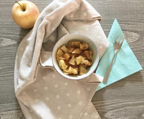 Frutta cotta speziata