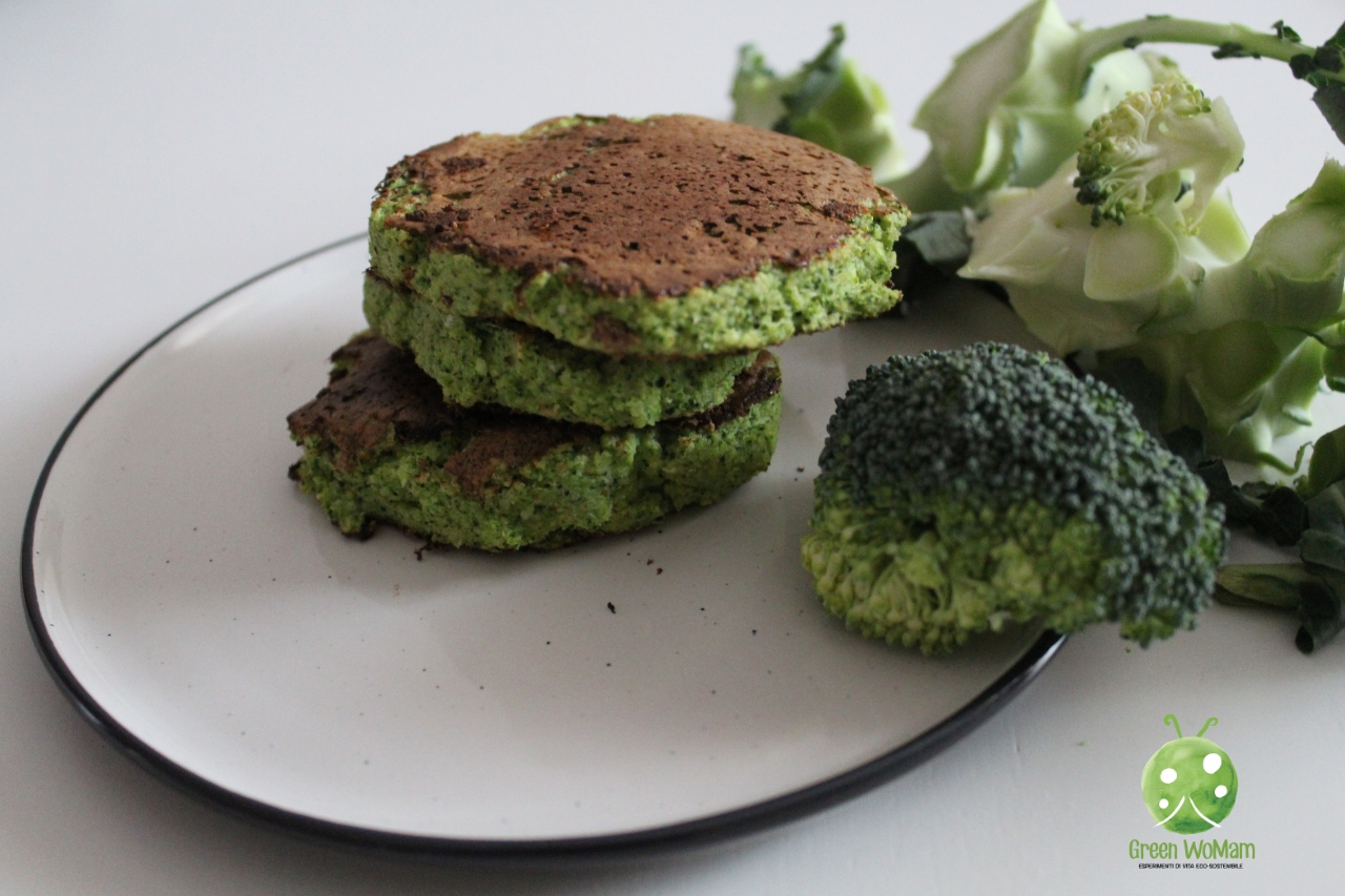 pancakes di broccoli